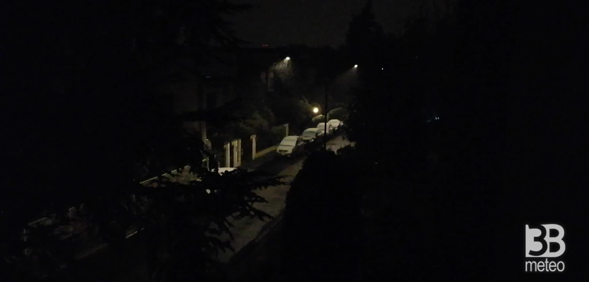 Cronaca meteo video: NEVE IN EMILIA ROMAGNA, la situazione Forlì