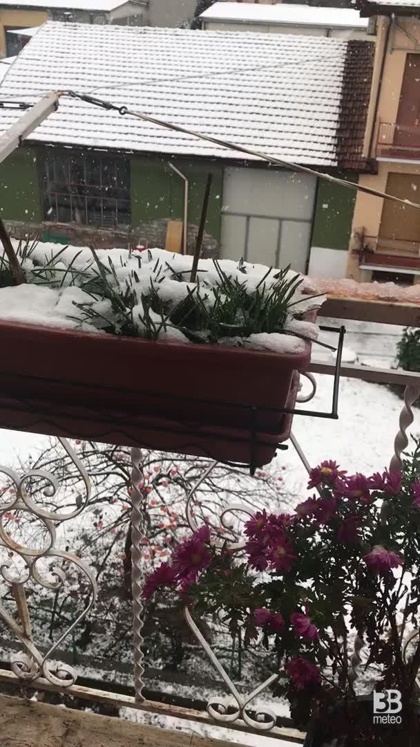 2 dicembre 2020 prima neve