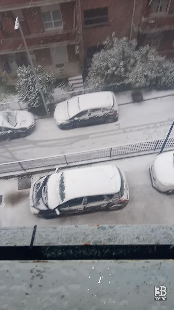nevica 17 gennaio 2021