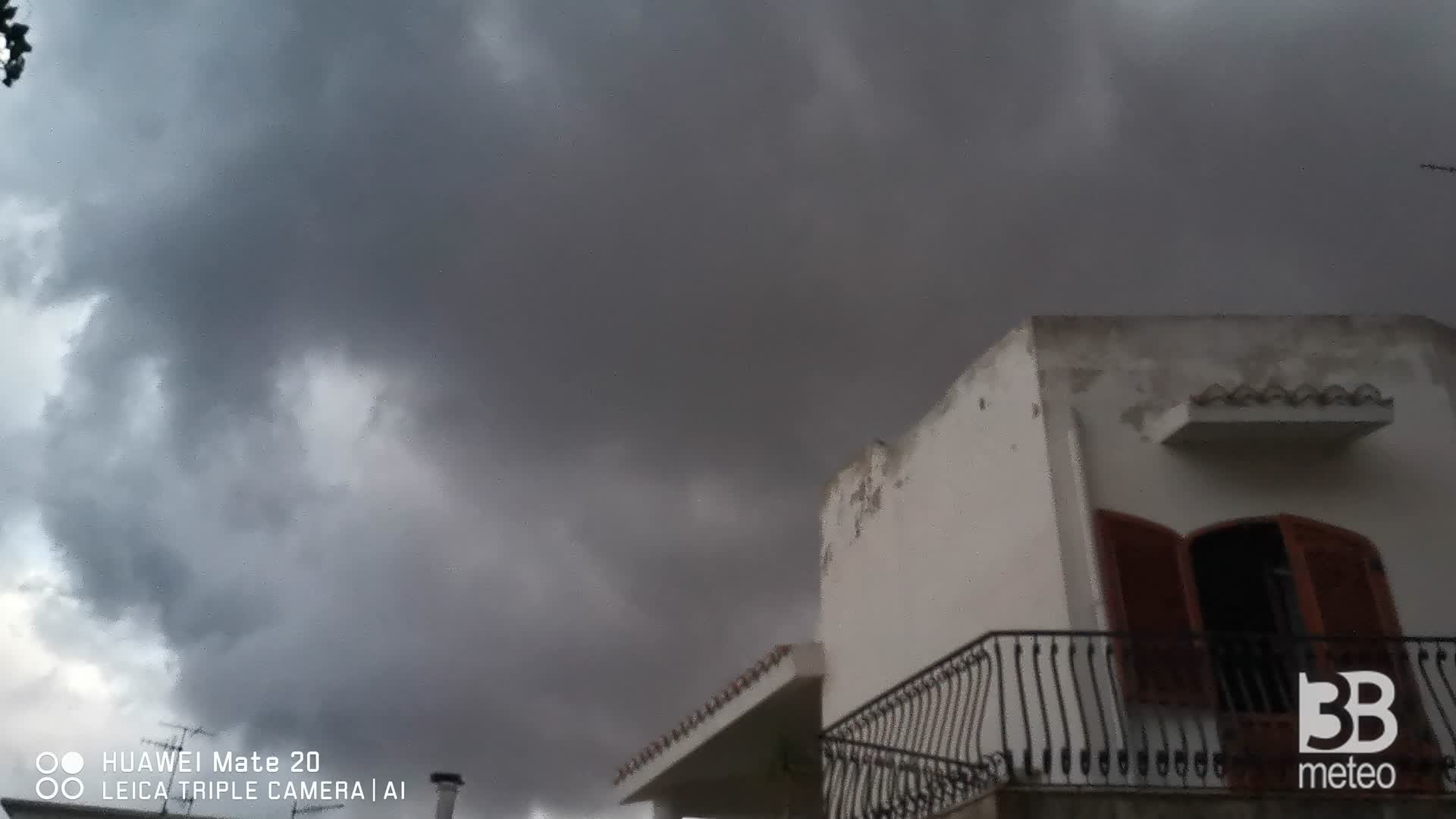 CRONACA meteo VIDEO: TEMPORALE a Messina