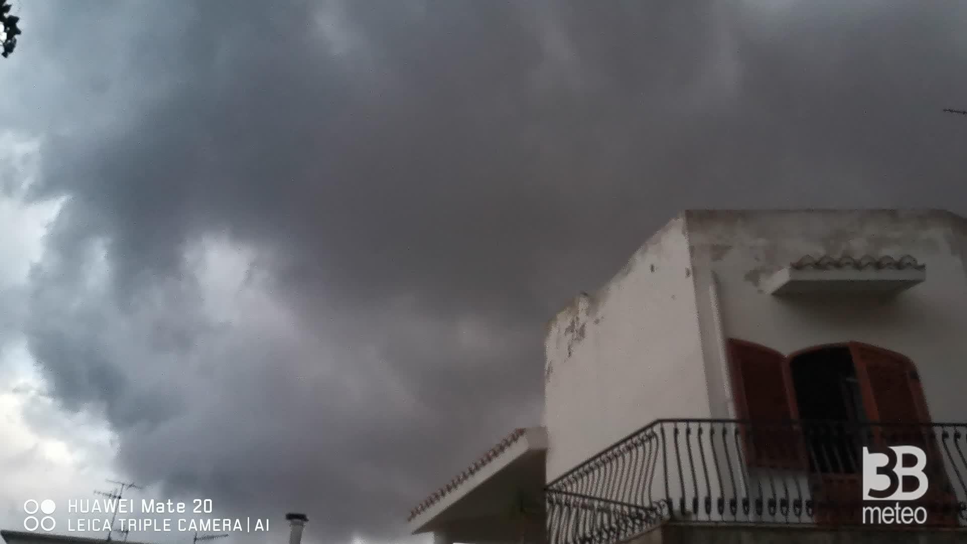 CRONACA meteo VIDEO: TEMPORALE a Messina