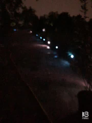 CRONACA METEO - Arrivano i TEMPORALI al Nord, la situazione domenica sera a MILANO - VIDEO