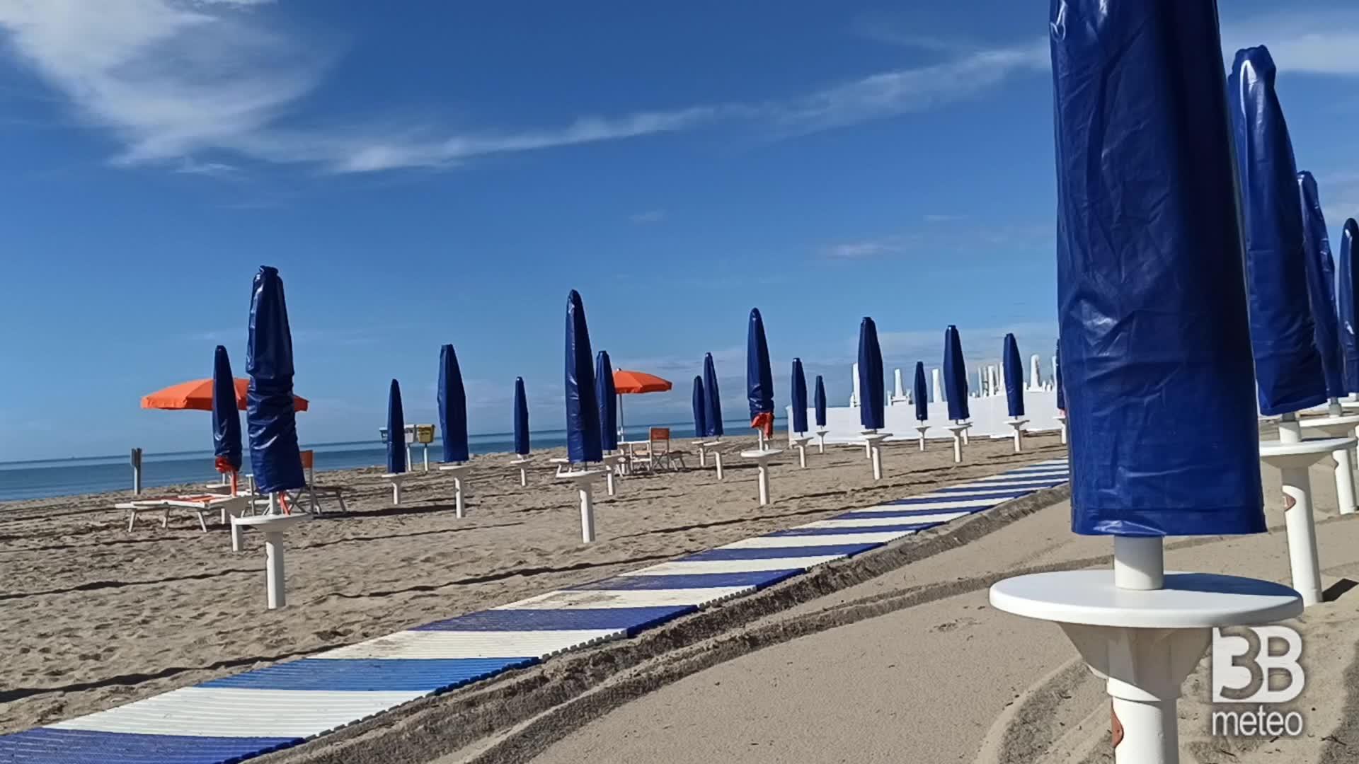 Cronaca meteo video: placida giornata di sole a Marina di Ginosa