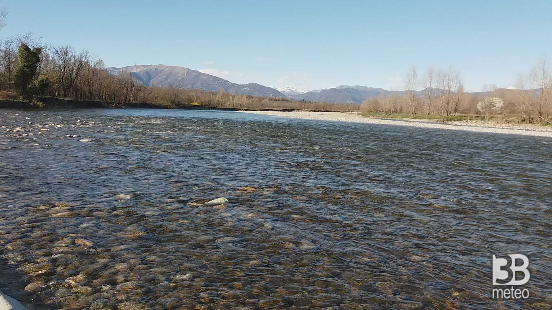 CRONACA METEO - Domenica soleggiata in Lombardia, la situazione sul Brembo - VIDEO