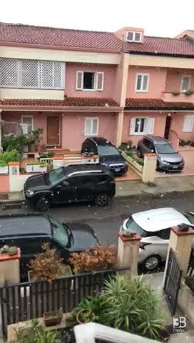 CRONACA METEO DIRETTA - NEVE in Sardegna fino a quote basse - VIDEO