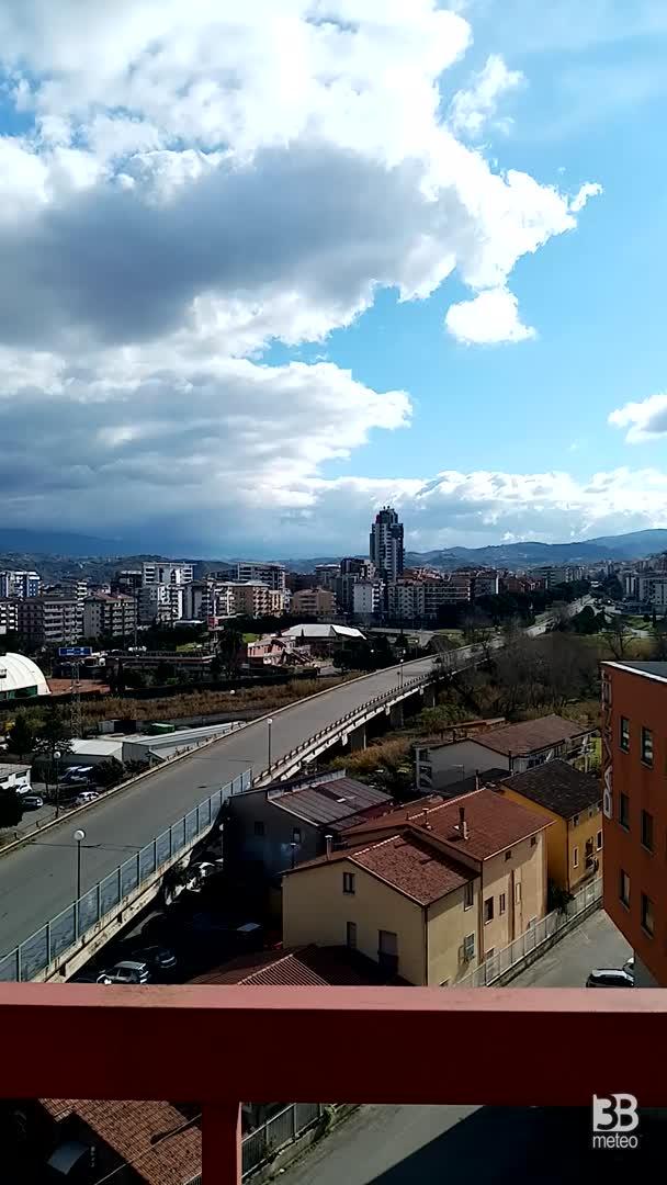 il tempo oggi a Cosenza