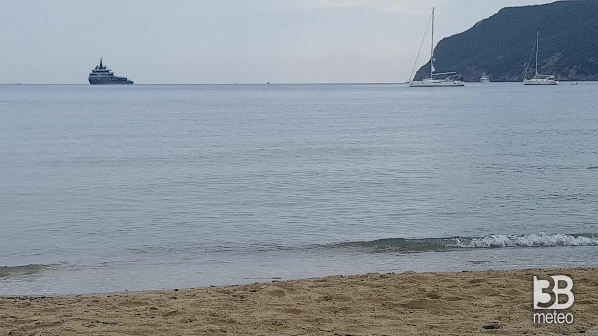 Cronaca meteo video: NUBI IN AUMENTO sull'Isola d'Elba