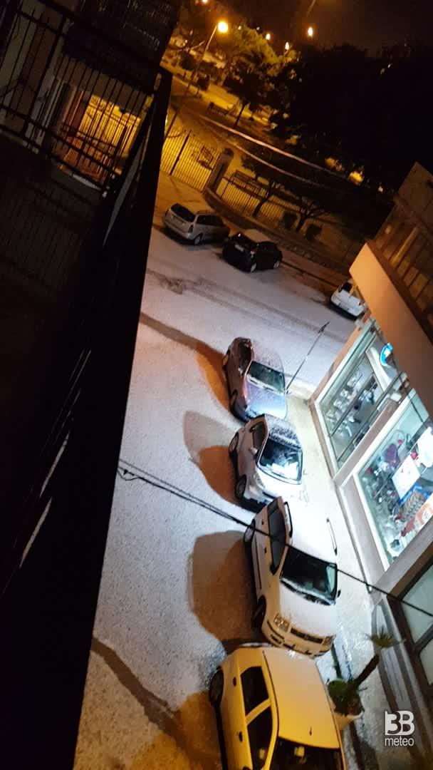 Meteo cronaca: Grandine a Siracusa. VIDEO