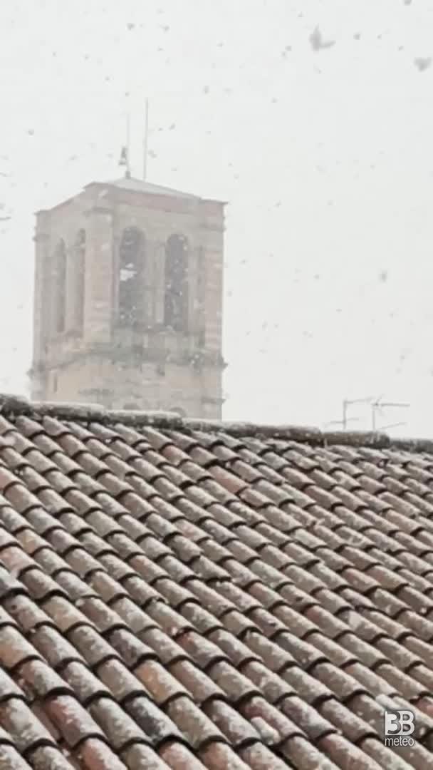 CRONACA METEO: NEVE a Ferrara