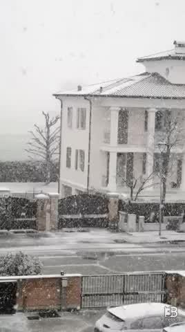 Nevicata 10 gennaio 2021
