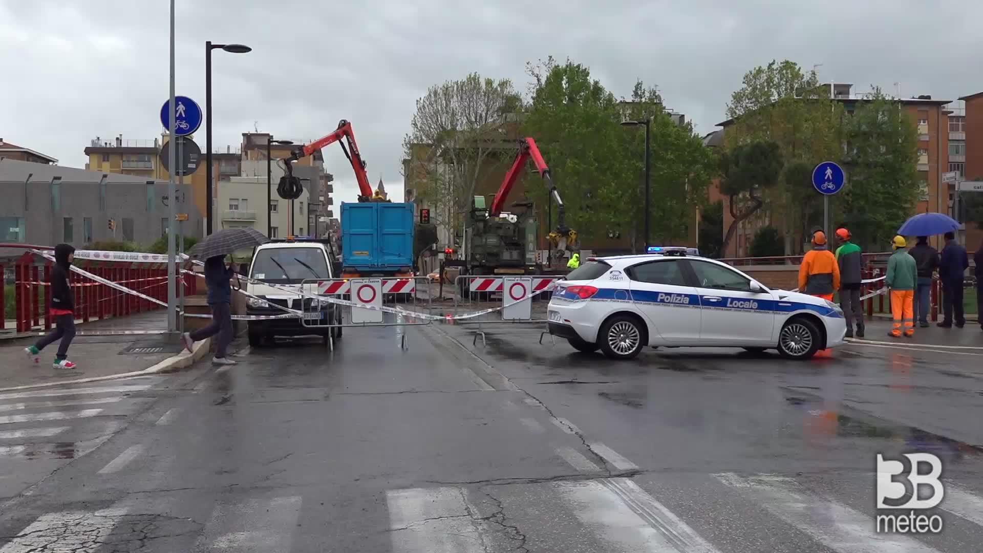 Maltempo, alluvione Cesena: paura per fiume Savio