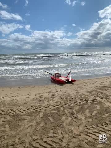 Meteo: venti tesi e mari mossi, VIDEO dalla Puglia