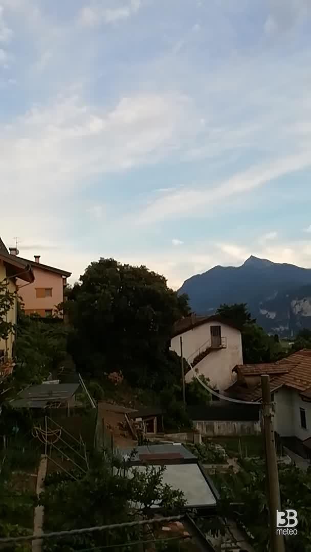Cronaca meteo VIDEO: situazione da Meano
