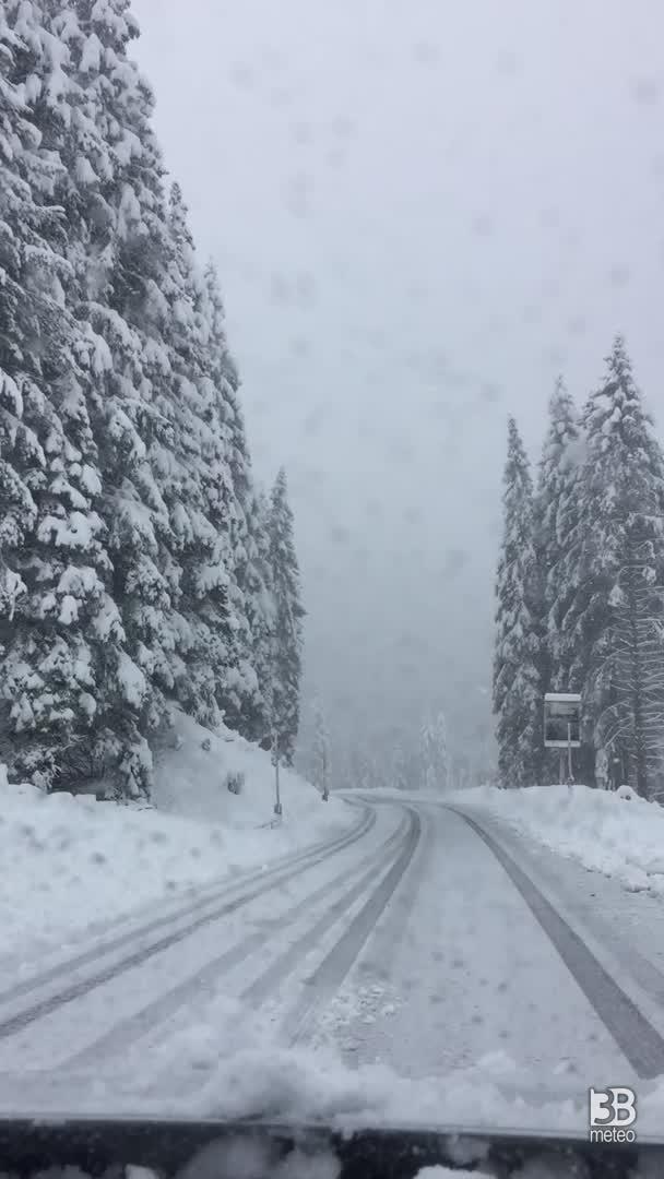 Nevicata 11/10/2020