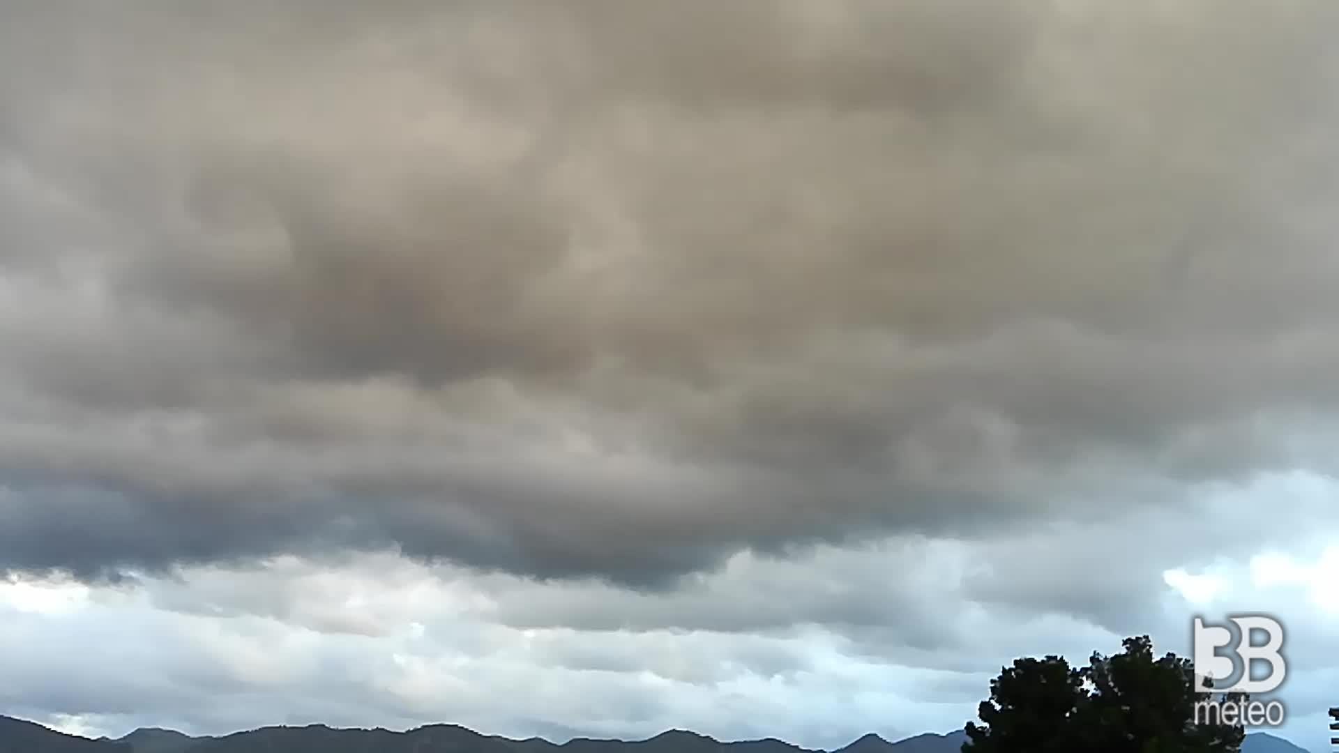 Palermo nuvolo oggi