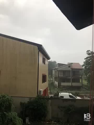 Pioggia e grandine