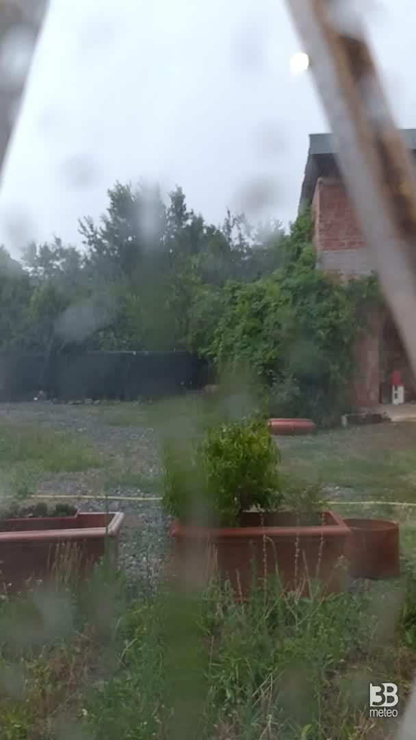 Pioggia finalmente