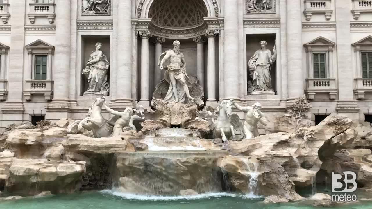 Cronaca METEO VIDEO: PIOGGIA e frescura a ROMA