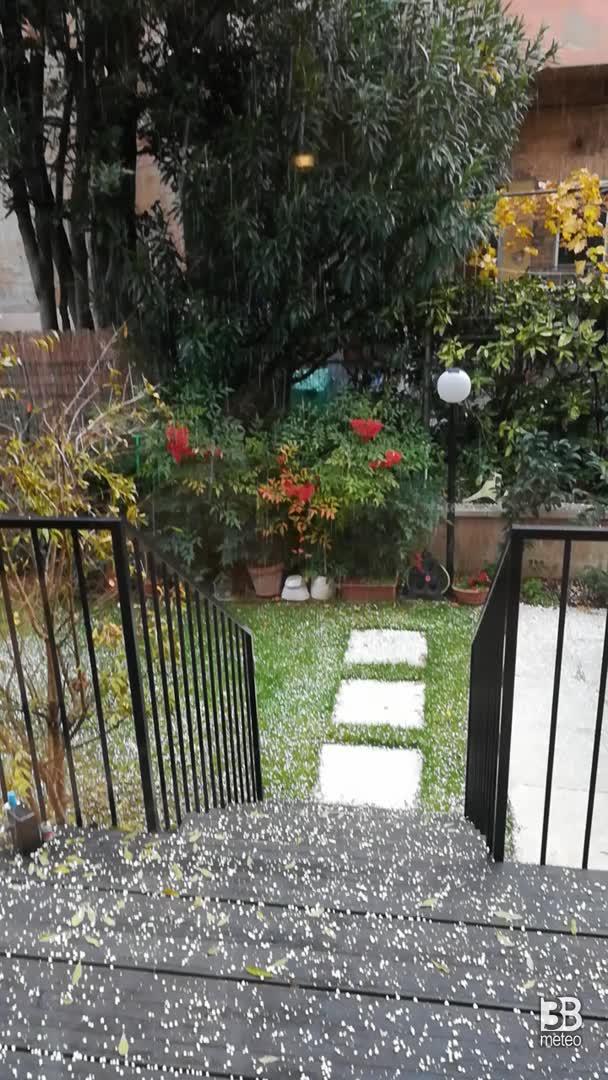 Pioggia neve