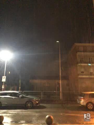 Pioggia viale milano