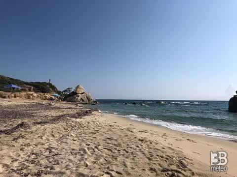 METEO DIRETTA: ESTATE PIENA SULL'ITALIA, video dalla Sardegna