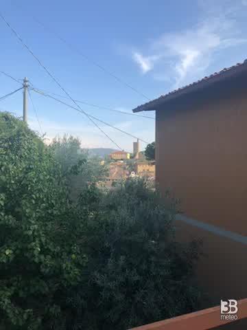 Sereno poco nuvoloso a castiglion fiorentino