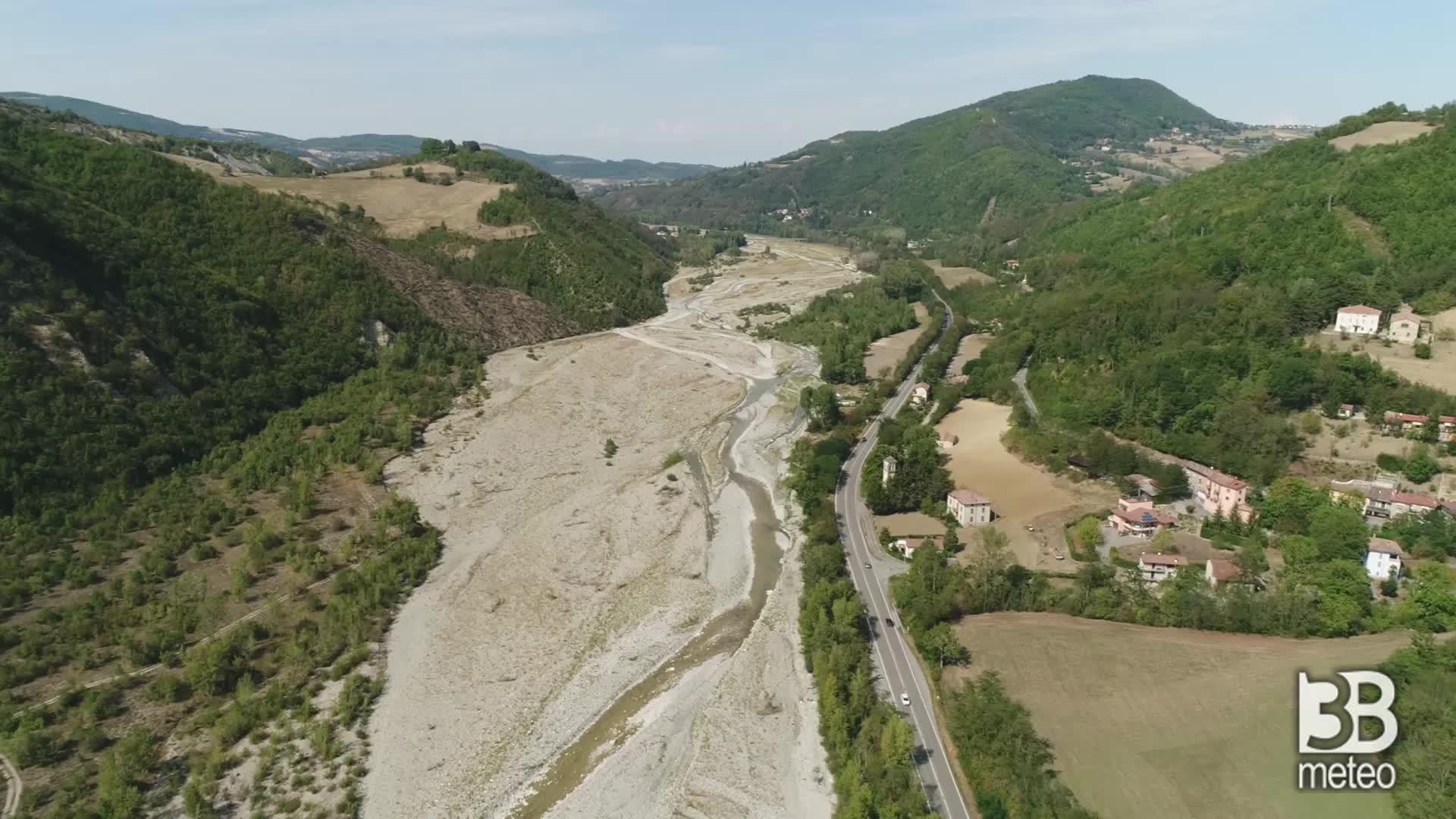 Siccità - fiumi scomparsi al Nord