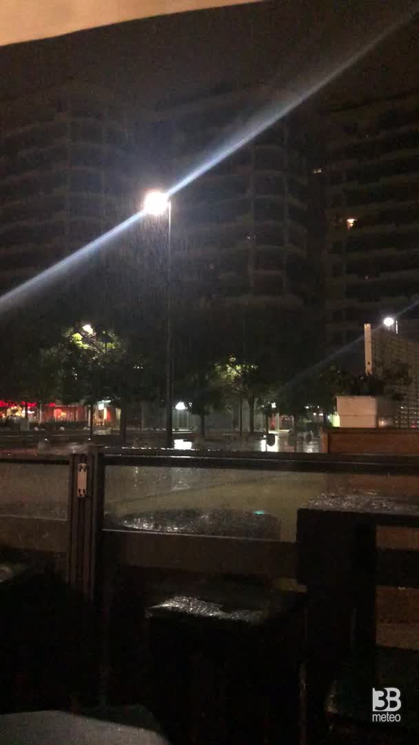 pioggia forte