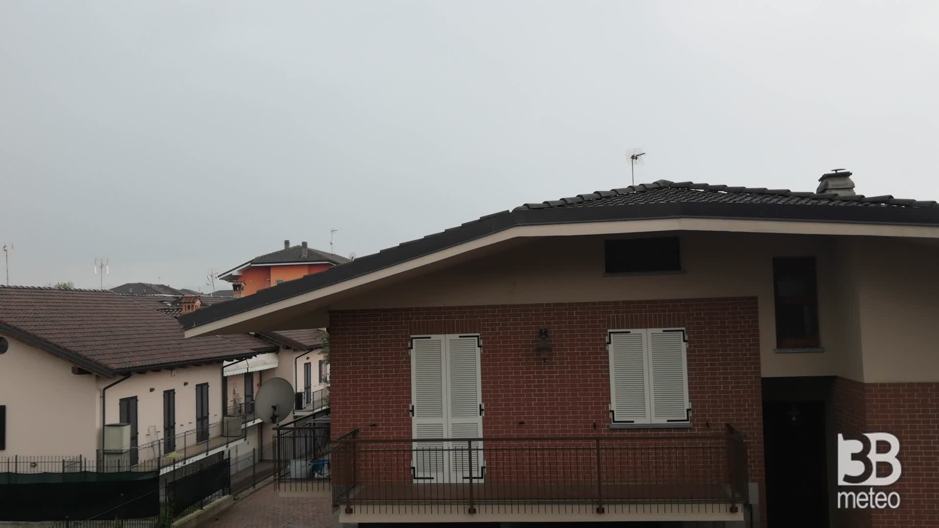 Cronaca METEO VIDEO, pioggia sul basso Piemonte
