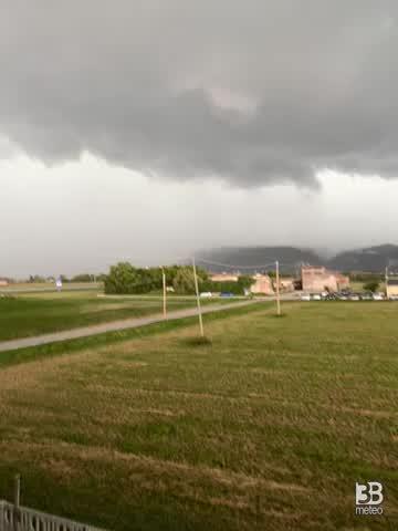 CRONACA METEO DIRETTA - Forti temporali in Veneto. Coinvolta anche la provincia di Vicenza - VIDEO