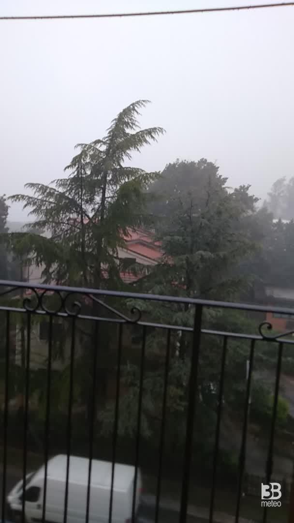 CRONACA METEO DIRETTA - Temporali sul Centro Italia, colpite le Marche - VIDEO