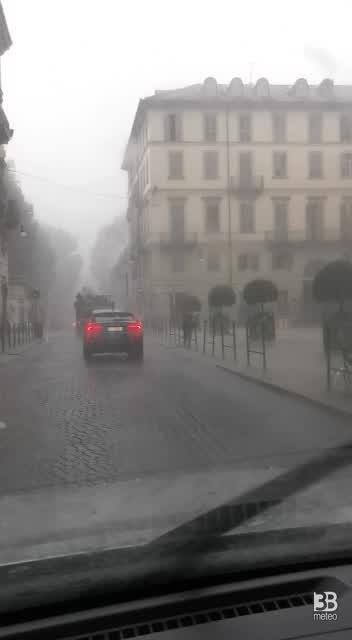 Torino sotto la pioggia