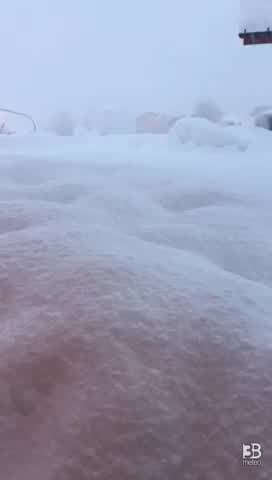 Cronaca meteo video: tanta neve sull'Altopiano di Asiago
