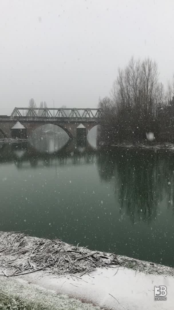 nevicata del 17 gennaio 2021