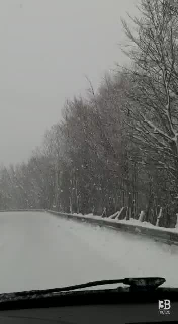 Val Vara sotto la neve