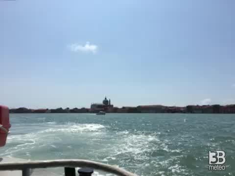 Cronaca METEO VIDEO, a Venezia soleggiato