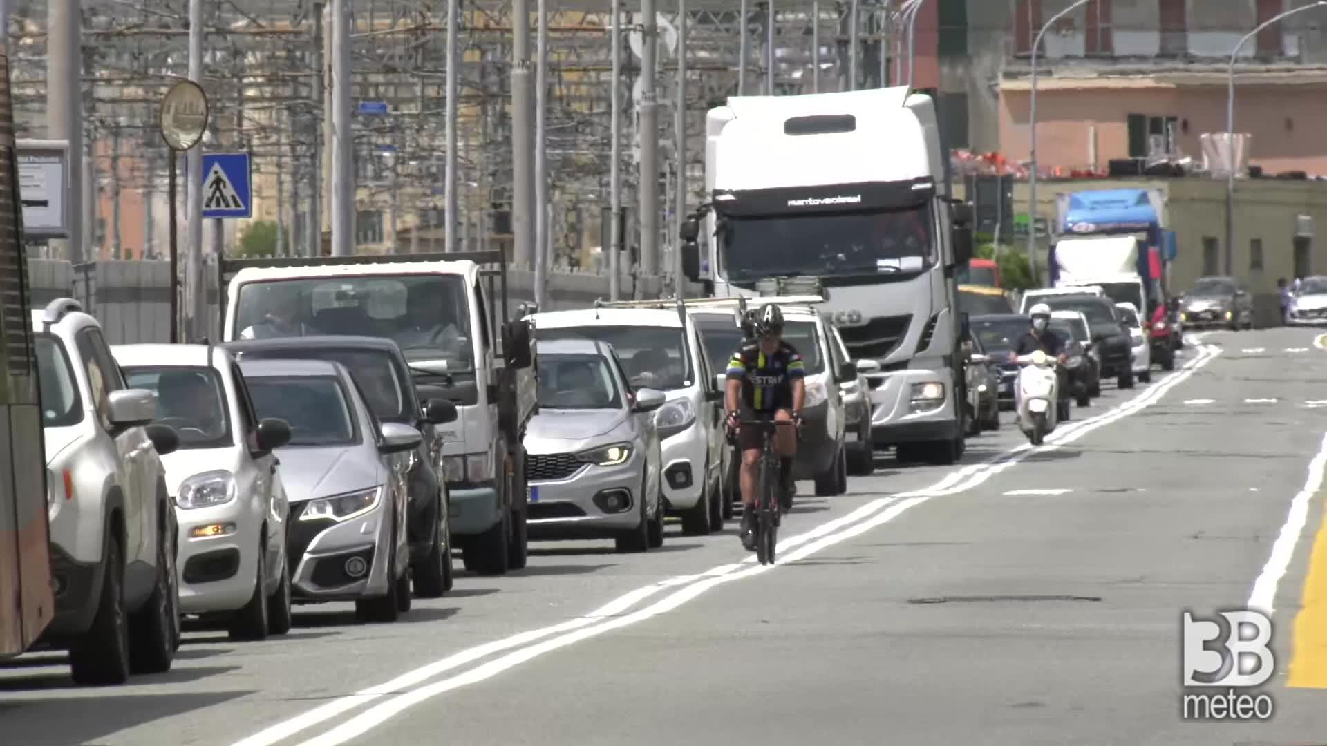 Genova, viabilit? paralizzata: in tilt la A10, caos traffico