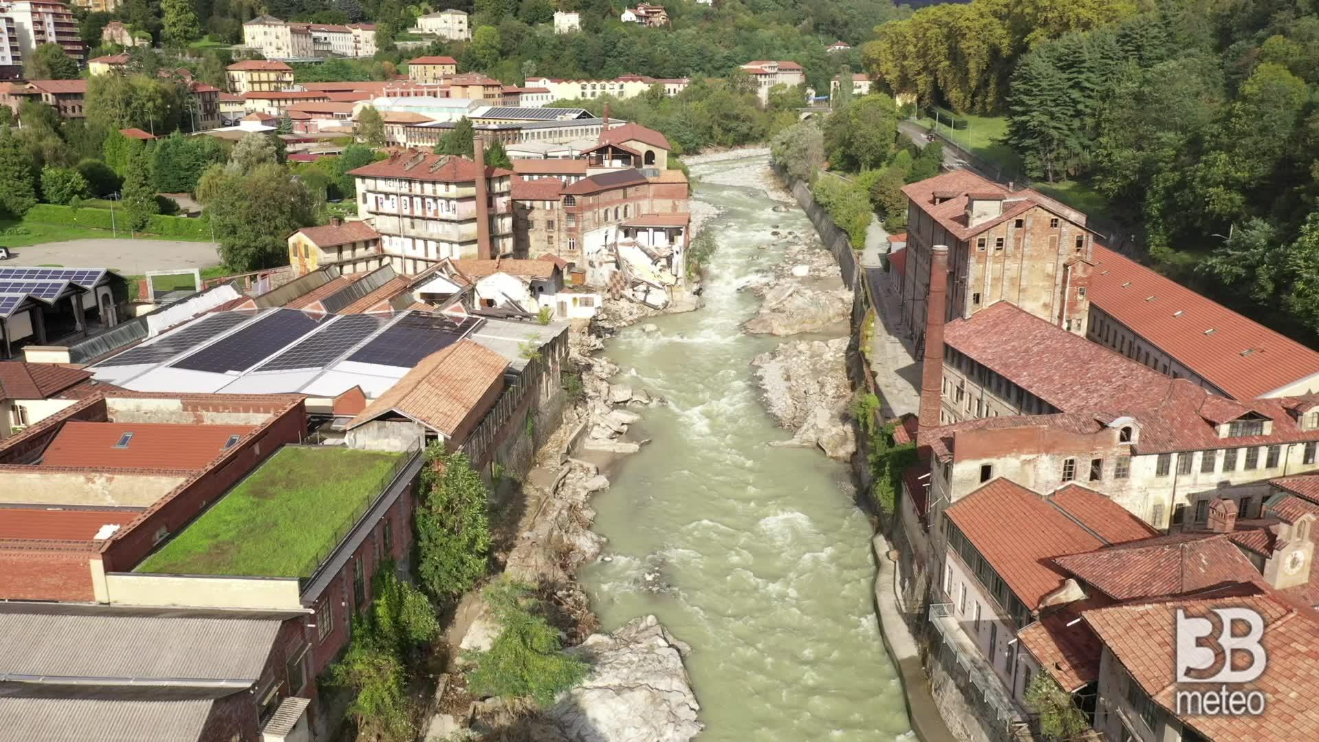 Drone, crolli a Cittadellarte: la furia devastante dell'acqua