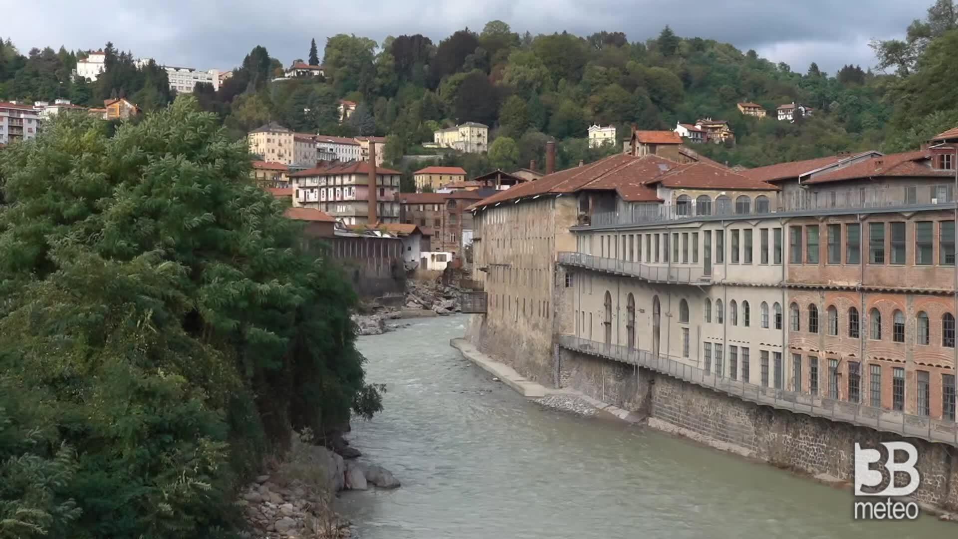 Alluvione Cittadellarte (Biella): edifici distrutti dalla piena