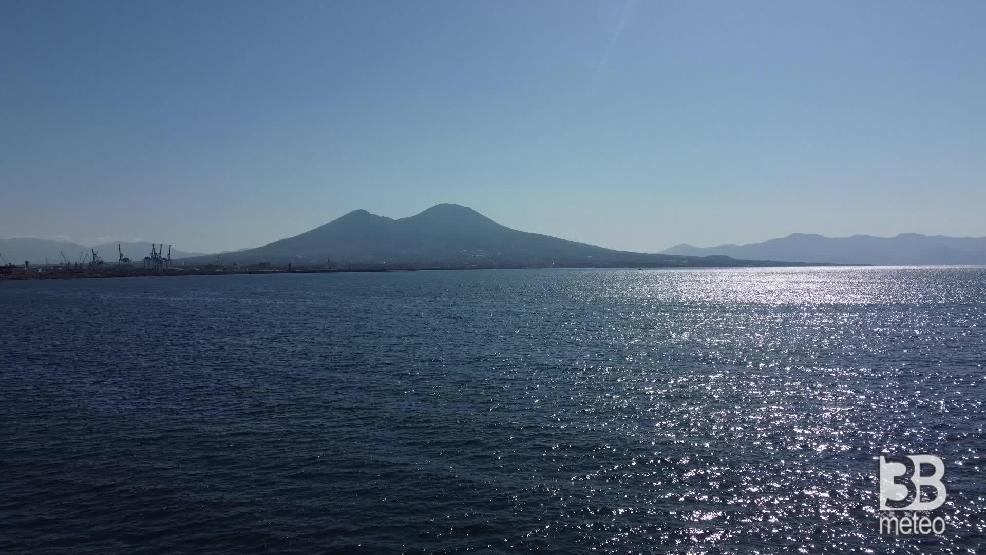 Napoli, Pasquetta Blindata: le immagini dal drone