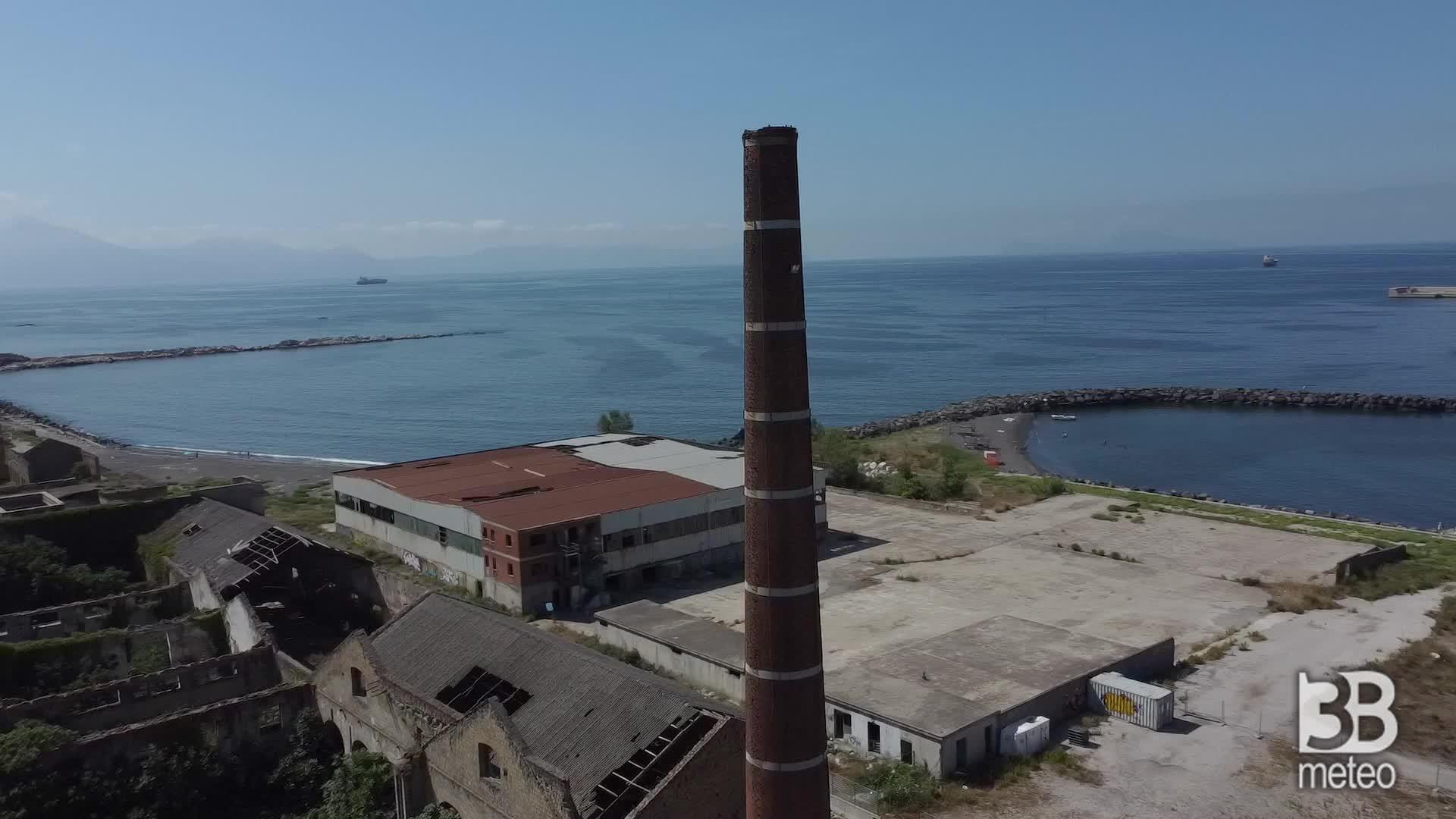Il mare negato di San Giovanni : le immagini dal drone