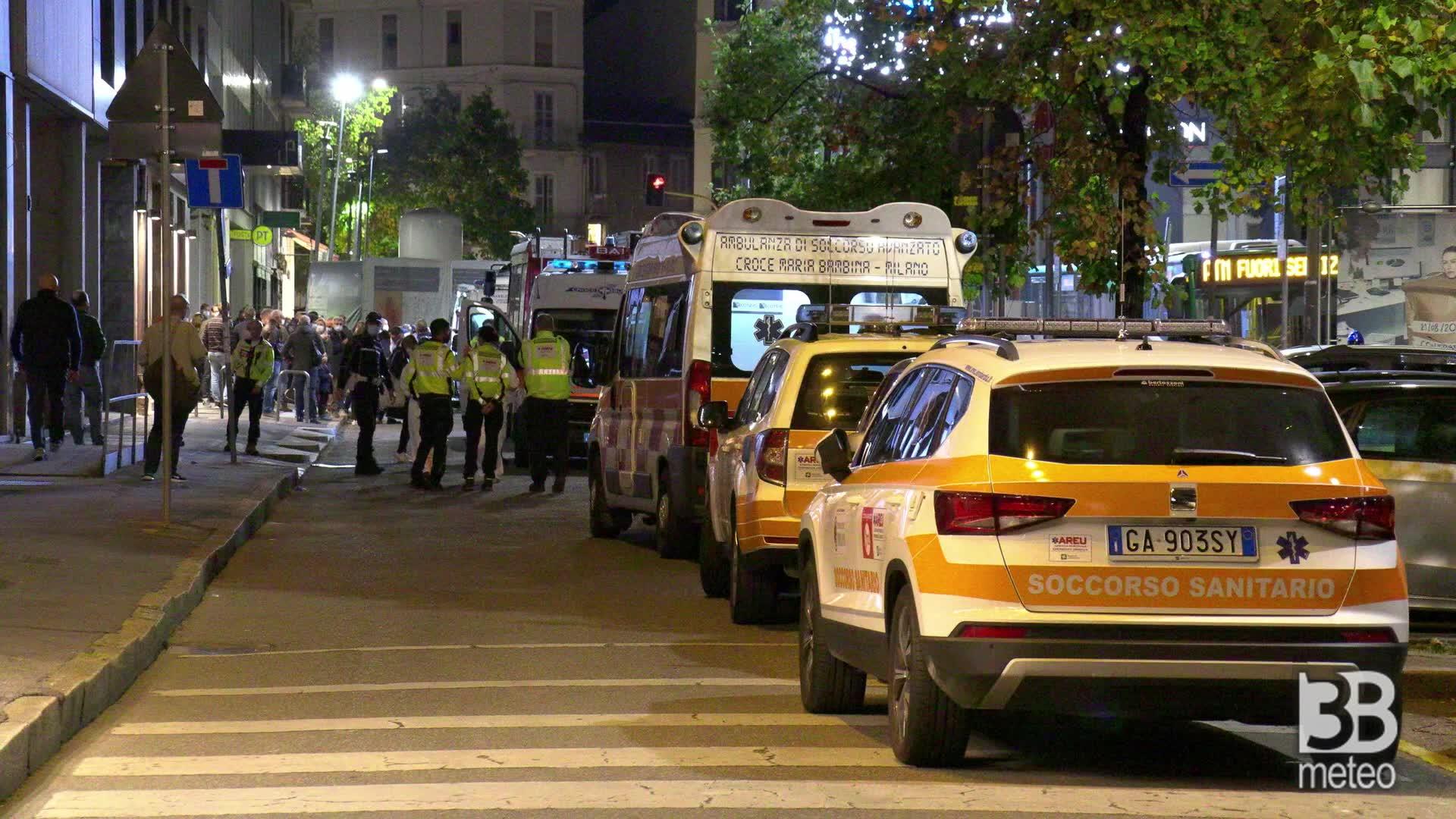180 evacuati in via Santa Sofia: cedimento nelle cantine